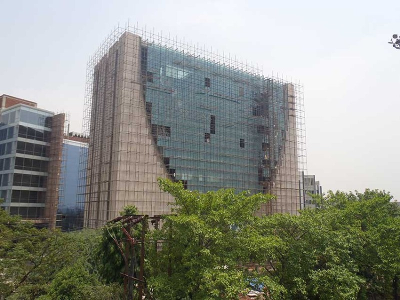 Plot 2500 IT Tower Film City Delhi is coming along nicely...